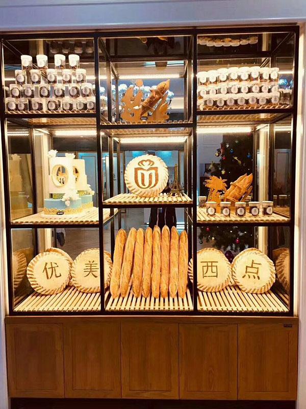 江西優美西點面包架