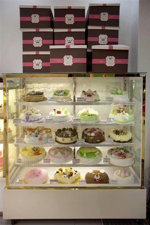 蛋糕模型柜